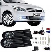Kit Farol de Milha Volkswagen Voyage G5 2008 até 2013 Farol Neblina