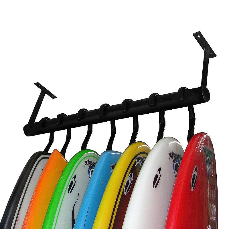 Suporte de Teto para Prancha de Surf Capacidade de até 7 Pranchas