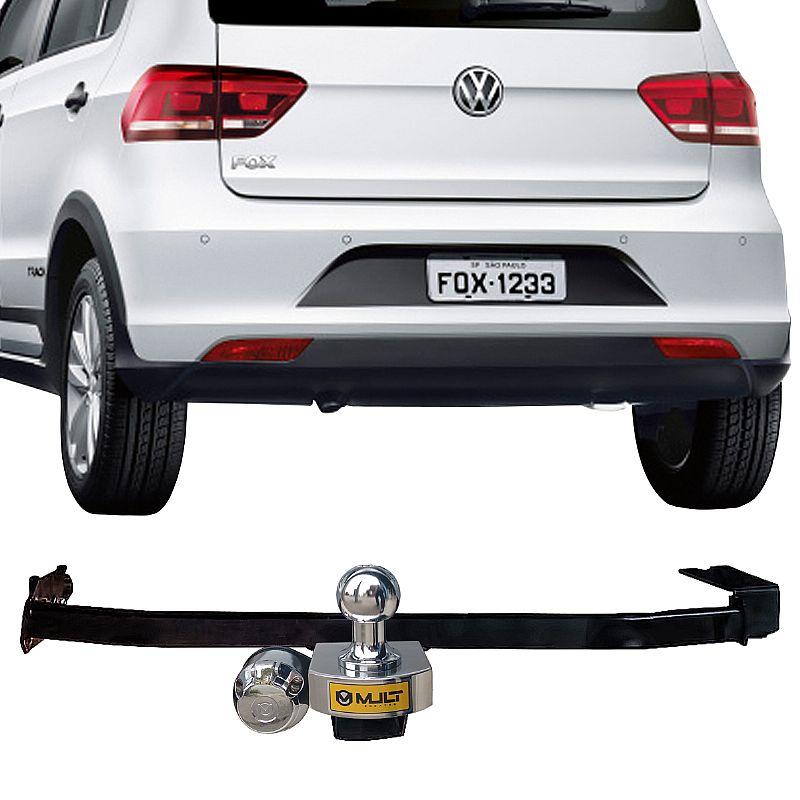Engate Reboque Rabicho para Volkswagen Fox 2004 05 06 07 até 2017