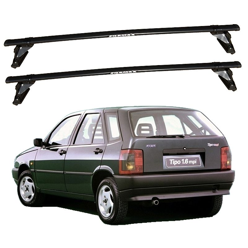 Rack de Teto Fiat Tipo 1993 até 1997 Eqmax Aço