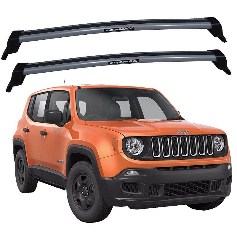 Rack de Teto Jeep Renegade 2015 adiante Eqmax