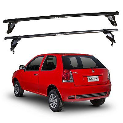 Rack de Teto Fiat Palio 2 portas 1996 até 2016 Eqmax Aço