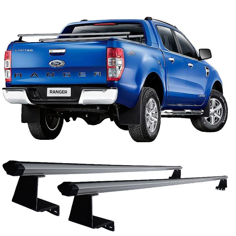 Rack de Caçamba para Ford Ranger 2013 adiante Eqmax Aluminium