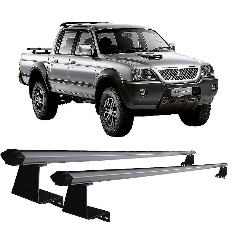 Rack de Caçamba para L200 Outdoor 2004 até 2014 Eqmax Aluminium