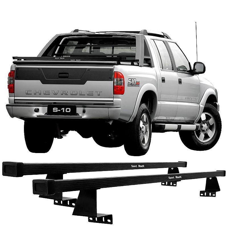 Rack de Caçamba para GM S10 1991 até 2011 Eqmax Sport Rack Aço
