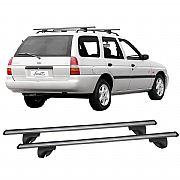 Rack de Longarina Escort Wagon 1991 até 2003 Eqmax Alpha Aluminium