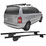 Rack de Longarina Hyundai Trajet 2000 até 2001 Eqmax Alpha Aço