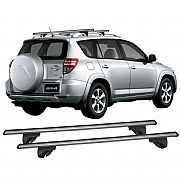 Rack de Longarina para Toyota Rav 4 2000 até 2013 Alpha Aluminium