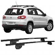 Rack de Longarina para Volkswagen Tiguan 2009 até 2014 Alpha Aço
