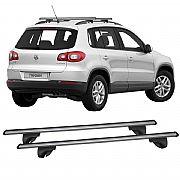 Rack de Longarina Volkswagen Tiguan 2009 até 2014 Alpha Aluminium