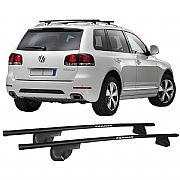 Rack de Longarina para Volkswagen Touareg 2005 até 2014 Alpha Aço