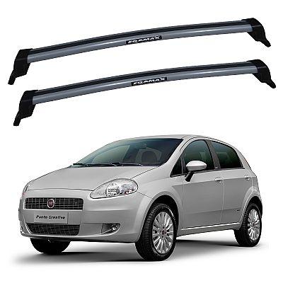Rack de Teto Fiat Punto 2007 até 2017 Eqmax New Wave
