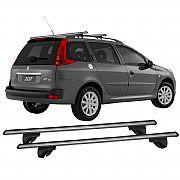 Rack de Longarina 207 SW Wagon 2009 até 2013 Eqmax Alpha Aluminium