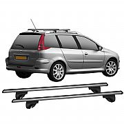 Rack de Longarina / Teto Eqmax para Peugeot 206 SW