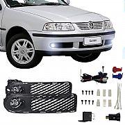 Kit Farol de Milha Volkswagen Gol G3 1999 até 2002 Farol Neblina