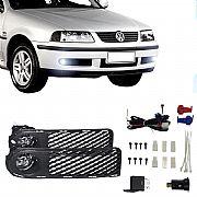 Kit Farol de Milha Volkswagen Parati G3 2000 até 2002 Farol Neblina