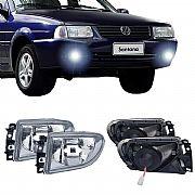 Par Farol de Milha Volkswagen Santana 98 até 2006 Farol Neblina