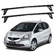 Rack de Teto para Honda New Fit 2009 até 2013 Travessas Eqmax