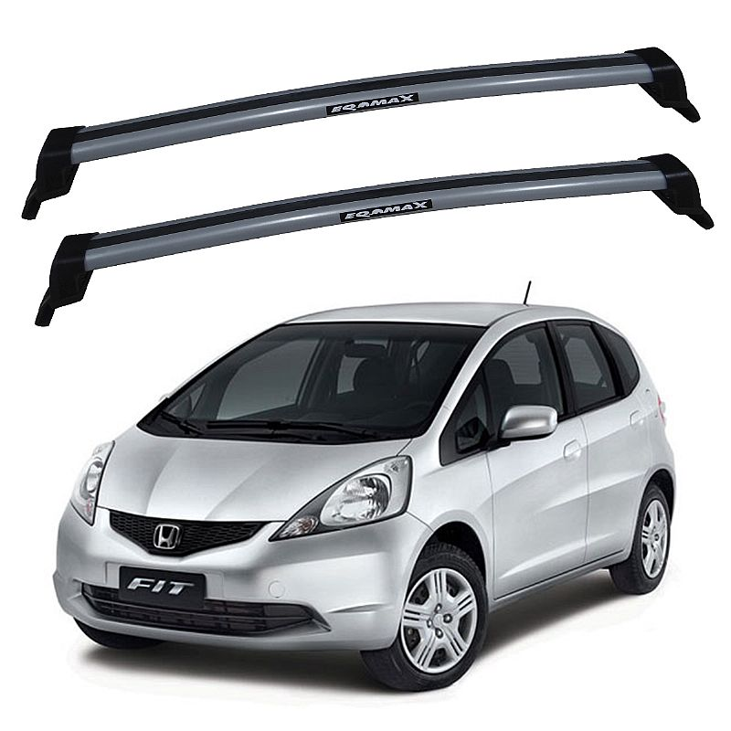 Rack de Teto para Honda New Fit 2009 até 2013 Eqmax New Wave