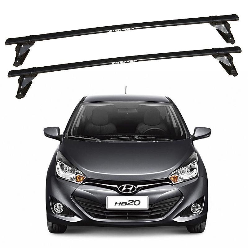 Rack de Teto para Hyundai HB20 2012 até 2017 Travessas Eqmax