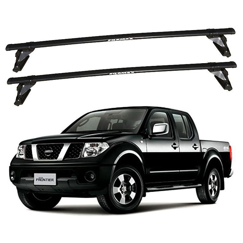 Rack de Teto para Nissan Frontier 2008 até 2013 Travessas Eqmax