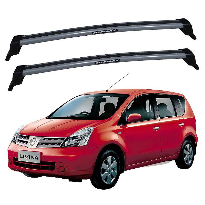 Rack de Teto Nissan Livina 2009 até 2014 Travessas Eqmax New Wave
