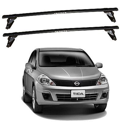 Rack de Teto para Nissan Tiida 2007 até 2013 Travessas Eqmax