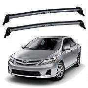 Rack de Teto para Toyota Corolla 2008 até 2013 Eqmax New Wave