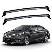 Rack de Teto para  Toyota Corolla 2015 até 2017 Eqmax New Wave