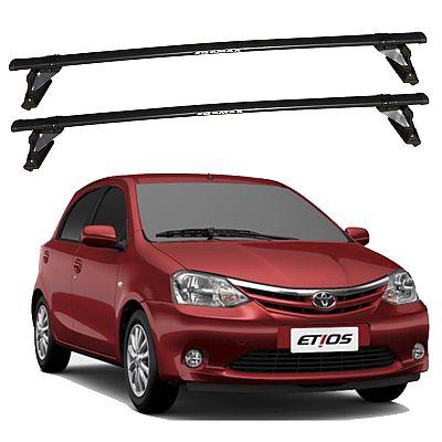 Rack de Teto para Toyota Etios 2013 até 2016 Travessas Eqmax