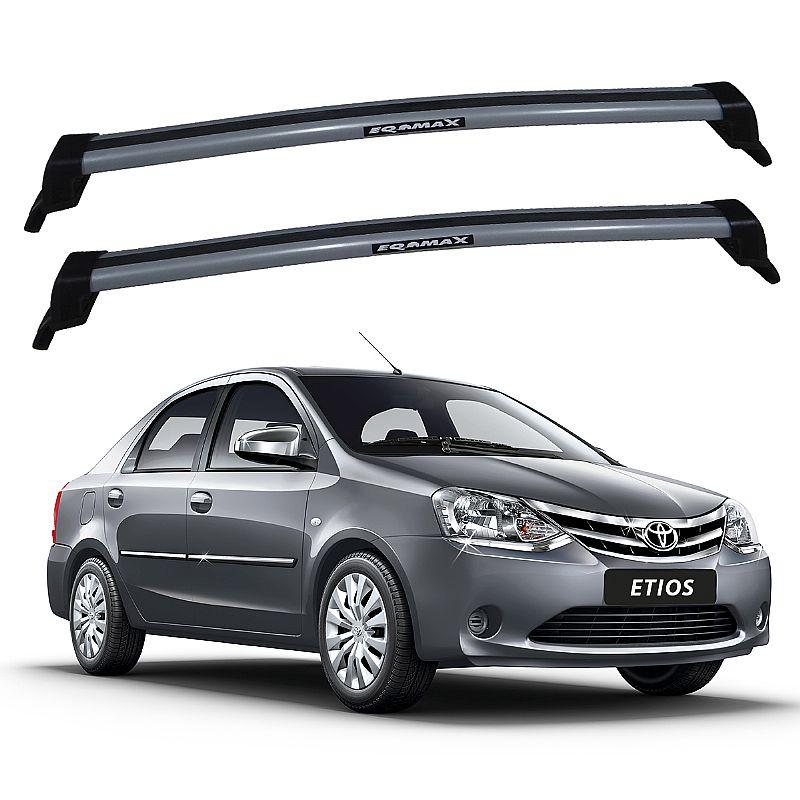 Rack de Teto para Toyota Etios Sedan 2014 até 2017 Eqmax New Wave