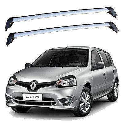 Rack de Teto para Renault Clio 4 portas 2000 até 2016 Eqmax Wave