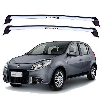 Rack de Teto para Renault Sandero 2007 até 2012 Eqmax New Wave