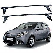 Rack de Teto para Renault Sandero 2007 até 2012 Travessas Eqmax
