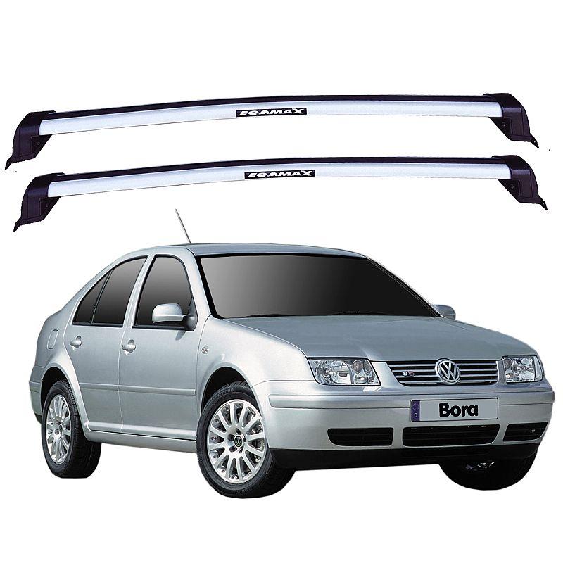 Rack de Teto para Volkswagen Bora 2000 até 2011 Eqmax New Wave