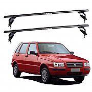 Rack de Teto Fiat Uno 4 portas 1988 até 2004 Eqmax Aço
