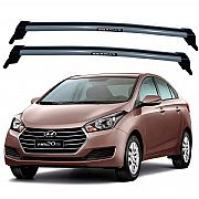 Rack de Teto HB20 S Sedan 2014 até 2017 Travessas Eqmax New Wave