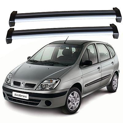 Rack de Teto Renault Scenic 1999 até 2011 Travessas Eqmax Wave