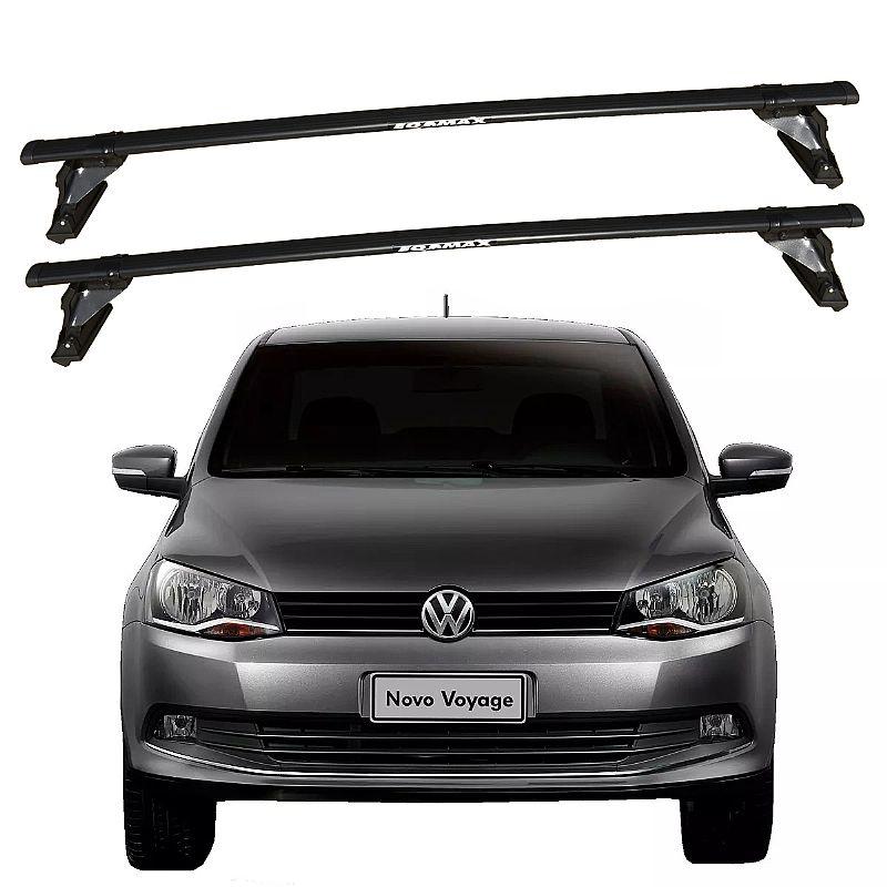 Rack de Teto Volkswagen Voyage G6 2013 até 2017 Travessas Eqmax