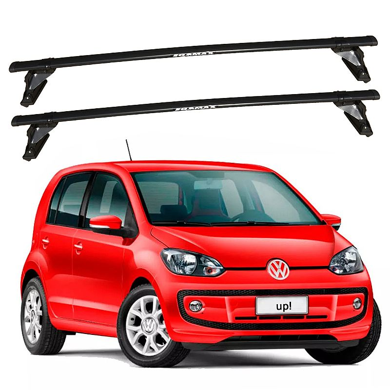 Rack de Teto Volkswagen UP 4 portas 2014 até 2017 Travessas Eqmax