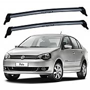 Rack de Teto Polo Sedan 2003 até 2014 Travessas Eqmax New Wave
