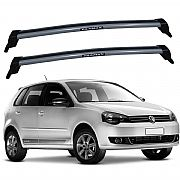 Rack Bagageiro de Teto Polo Hatch 2003 até 2014 Eqmax New Wave