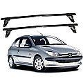 Rack de Teto Peugeot 206 2 portas 1998 até 2010 Travessas Eqmax