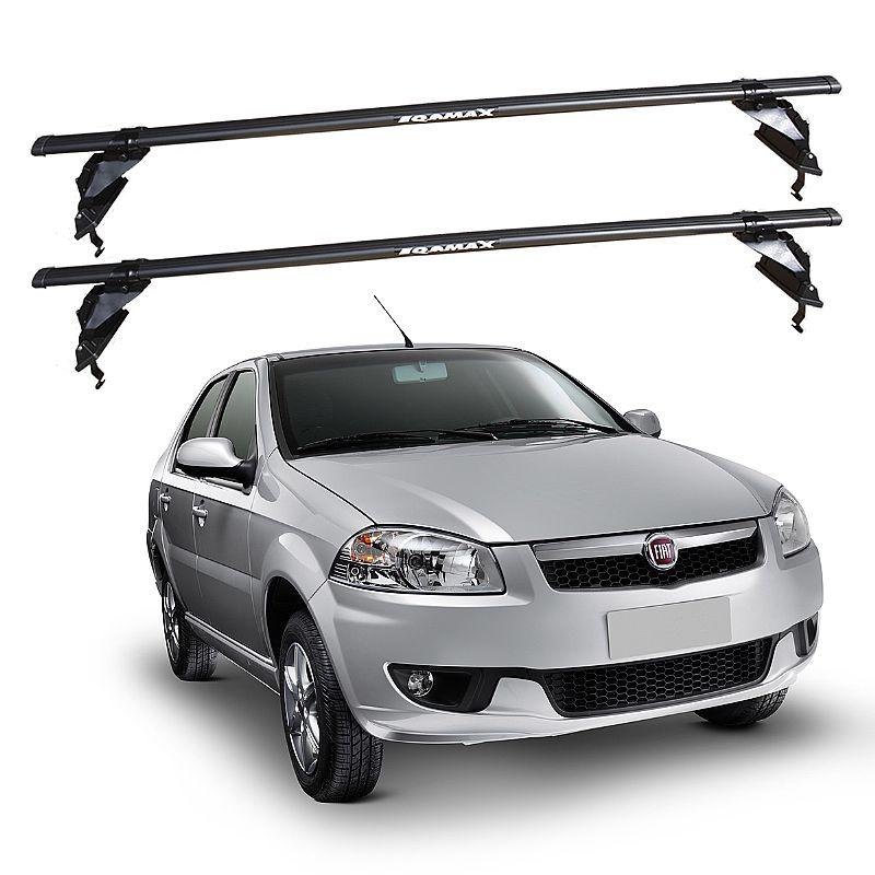 Rack de Teto Fiat Siena 2008 até 2016 G4 G5 Eqmax Aço