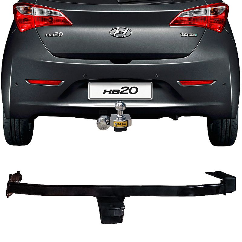 Engate Reboque Rabicho Hyundai HB20 Hatch Exceto HB20 Hatch X