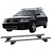 Rack para Longarina Audi A6 Avant 1996 até 2007 Eqmax Alumínio