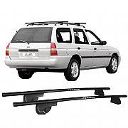 Rack de Longarina para Escort Wagon 1991 até 2003 Eqmax Alpha Aço