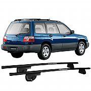 Rack de Longarina Subaru Forester 1998 até 2001 Eqmax Alpha Aço