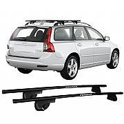 Rack de Longarina para V 50 Wagon 2004 até 2010 Eqmax Alpha Aço