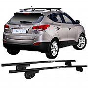 Rack de Longarina para Hyundai iX35 2012 até 2017 Eqmax Alpha Aço